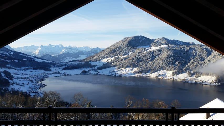 The Outdoor Retreat - ALPINE VIEW - Oberägeri