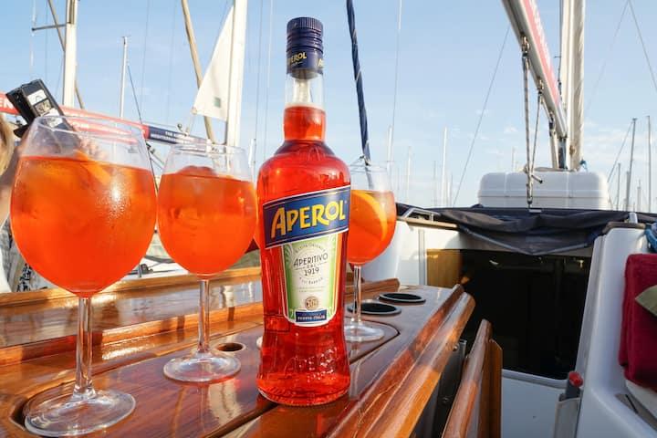 Taste Aperol Spritz, a tasty aperitif