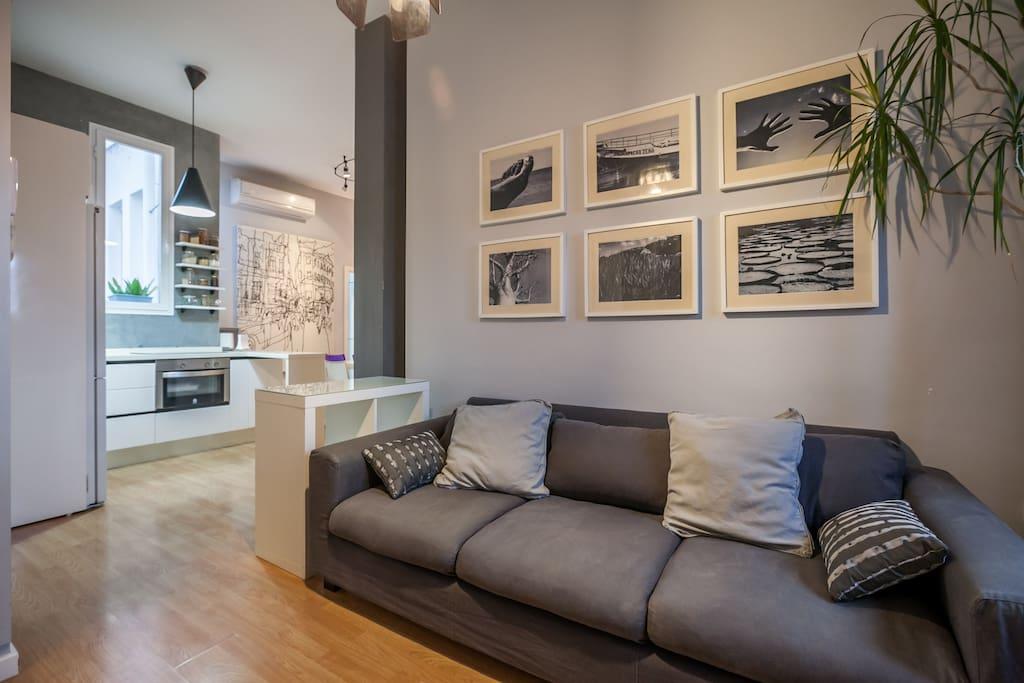 Salón -Living Room