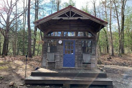 Merlin's Cabin at Stone Mountain Farm in New Paltz