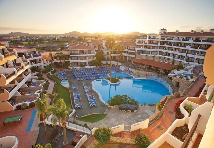 Tenerife South Golf del Sur nagy teraszos apartman