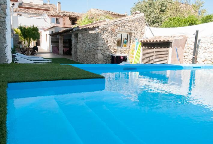 Planta Baja con patio y piscina privada - Vilafranca de Bonany - Casa