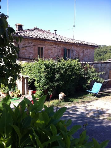 """Porzione di Casa Colonica Podere """"la Scheggiolla"""" - Castelnuovo Berardenga"""
