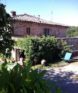 """Porzione di Casa Colonica Podere """"la Scheggiolla"""" - Castelnuovo Berardenga - Appartamento"""