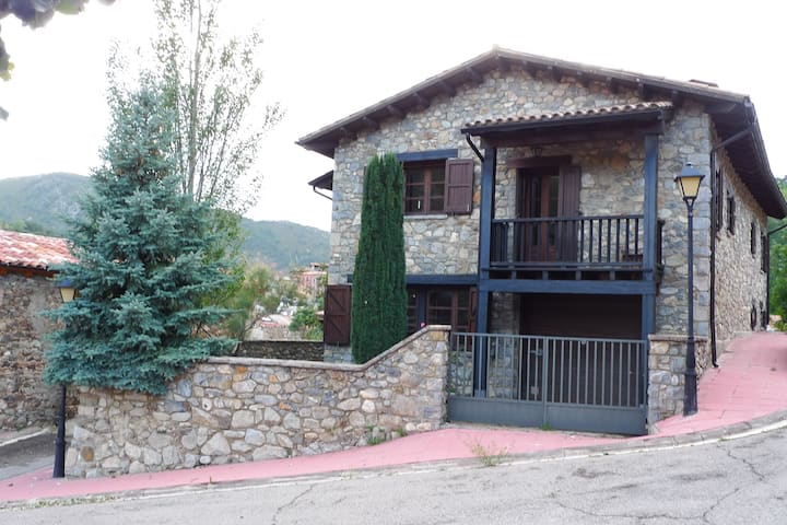 Beautiful house in the Pyrenees Mountains