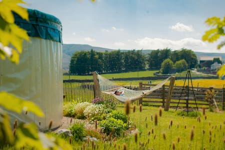 Far Field Yurt, Cumbria, Yorkshire Dales.