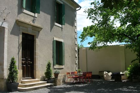 Maison de caractère avec jardin - Sardan - Dom