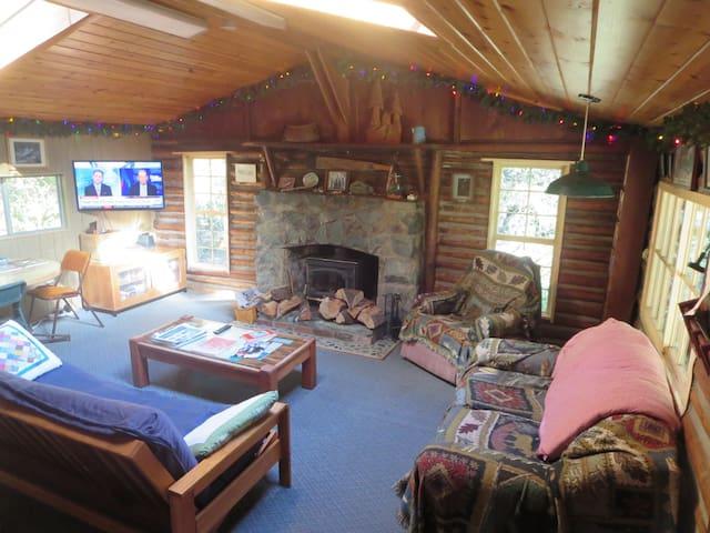 living room, main cabin