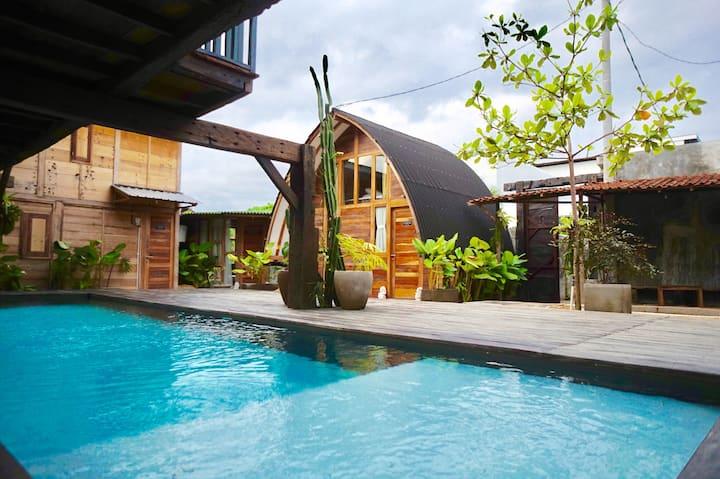 Unique architecture & design, Pool,  'Canggu room'