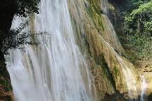 A 20 minutes de la superbe cascade El limon.
