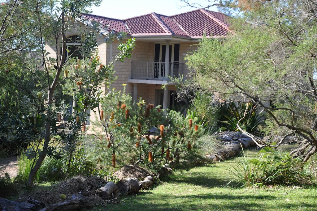 Luxury Beach House set in native gardens