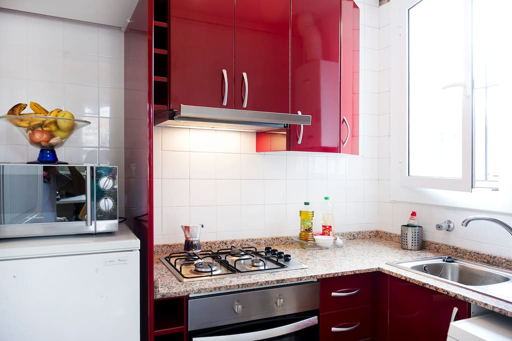 Full kitchen. You´re welcome to use