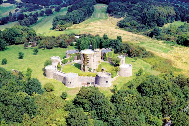 Majestic 17th-century castle in stunning Somerset countryside