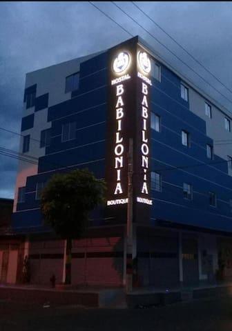 Hostal Babilonia Boutique.  Ubicado en Cúcuta.