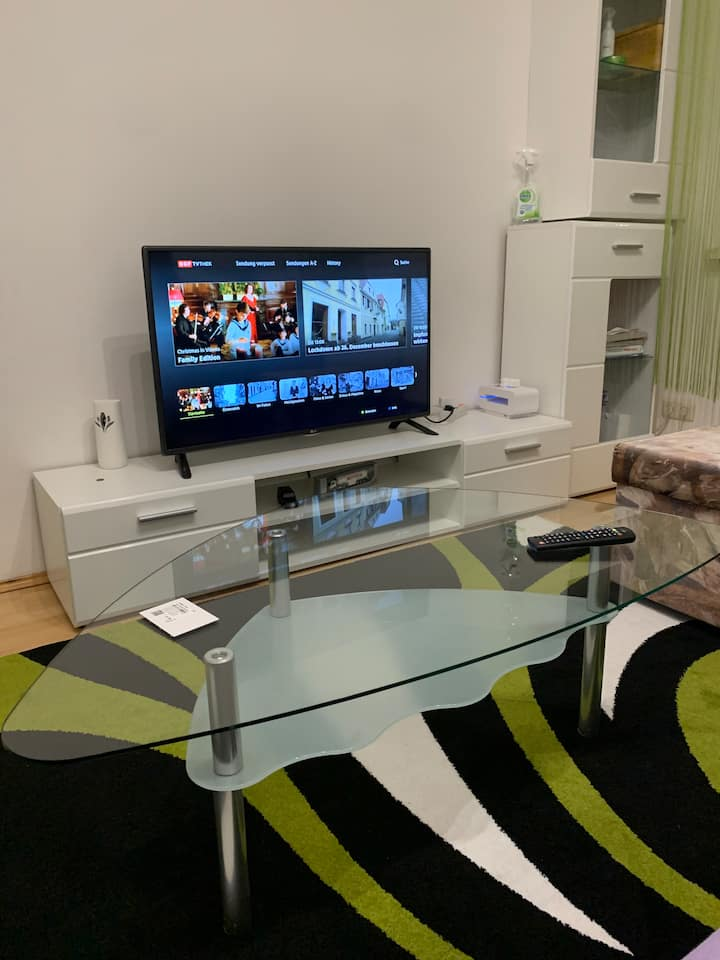 ★Central60m²|Kitchen|Netflix|4min to TrainStation★