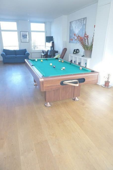 Room 1 Pool Table Spa Roof Tce On Canal Apartments
