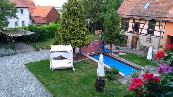 Gutshof - zentral zwischen Weimar, Jena und Erfurt