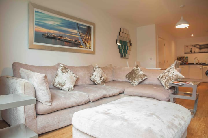 Luxury one bed apartment in central Brighton