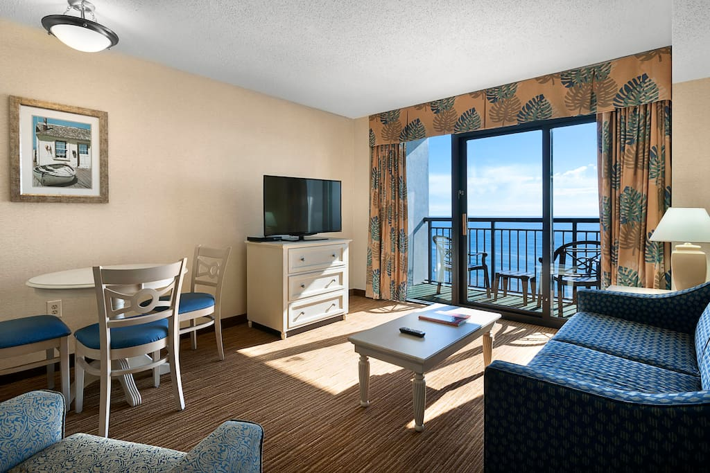 Direct Oceanfront Suite At The Breakers Resorts For Rent In Myrtle Beach South Carolina