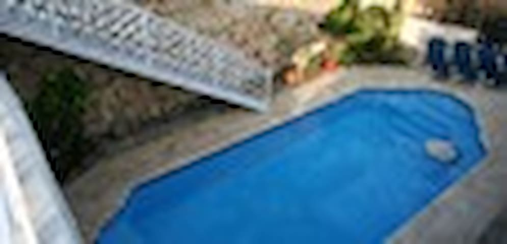 Pool from the sun deck