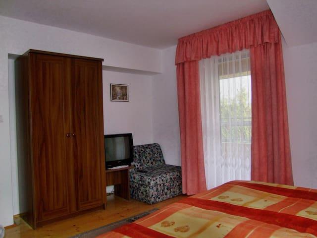 Egyszobás apartman hálószoba