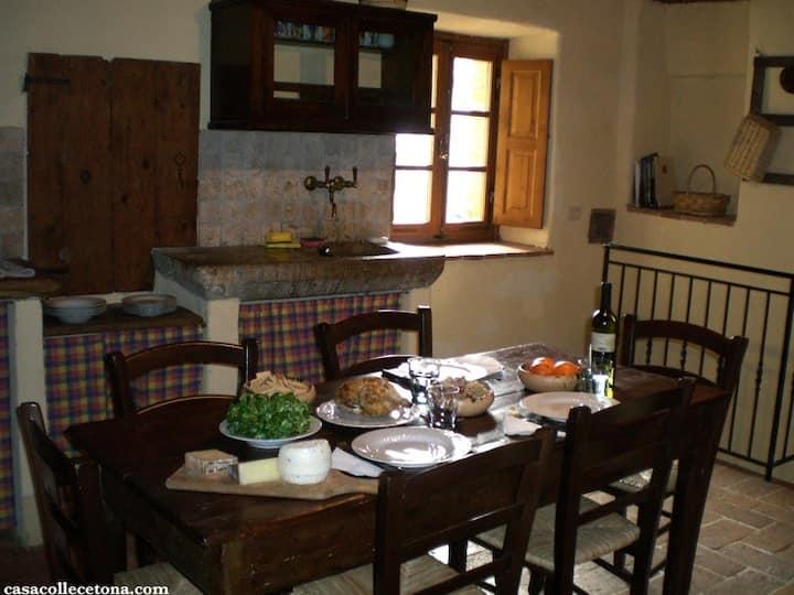 Casa Colle Cetona:unspoiled Tuscany