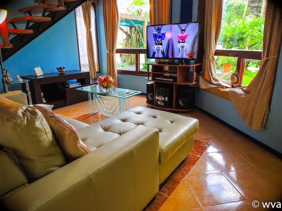 Comodo sofa con TV 42