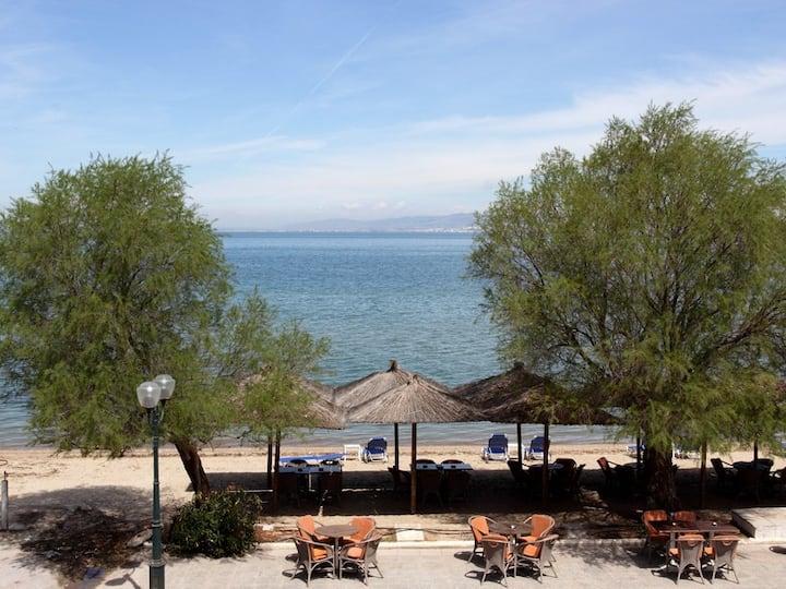 Pavlos House (20m from sandy beach) - Agia Triada