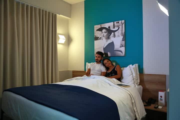 Apartamento Superior 01 cama de casal Queen