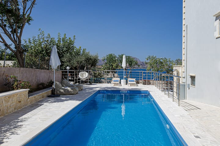 Thea Villa, with Private Pool & SeaViews