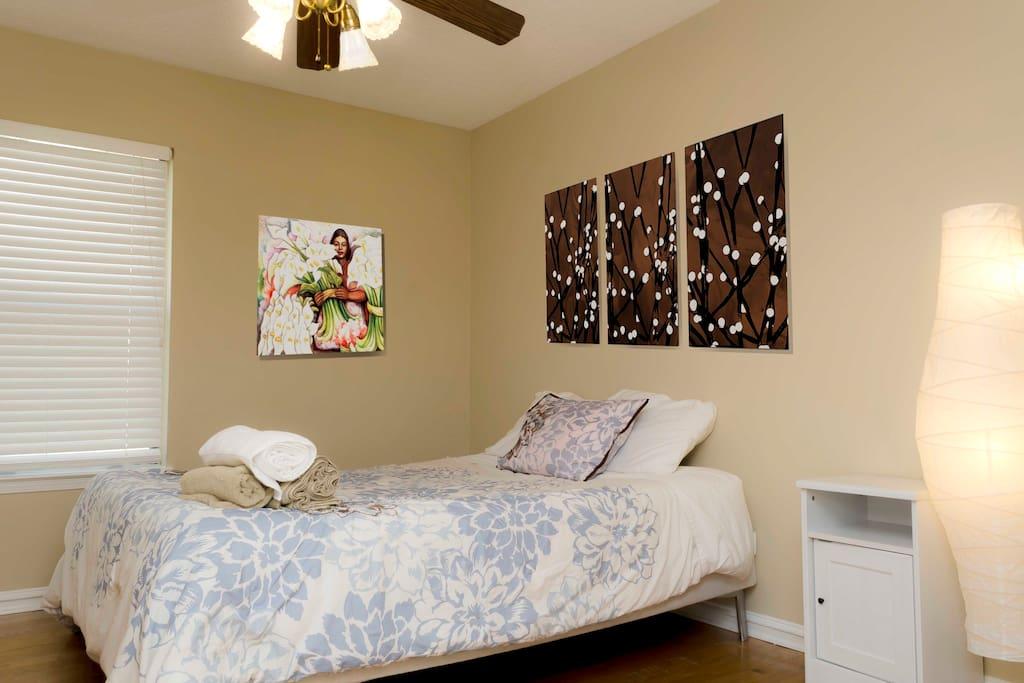 Elegant second Queen Size  bedroom