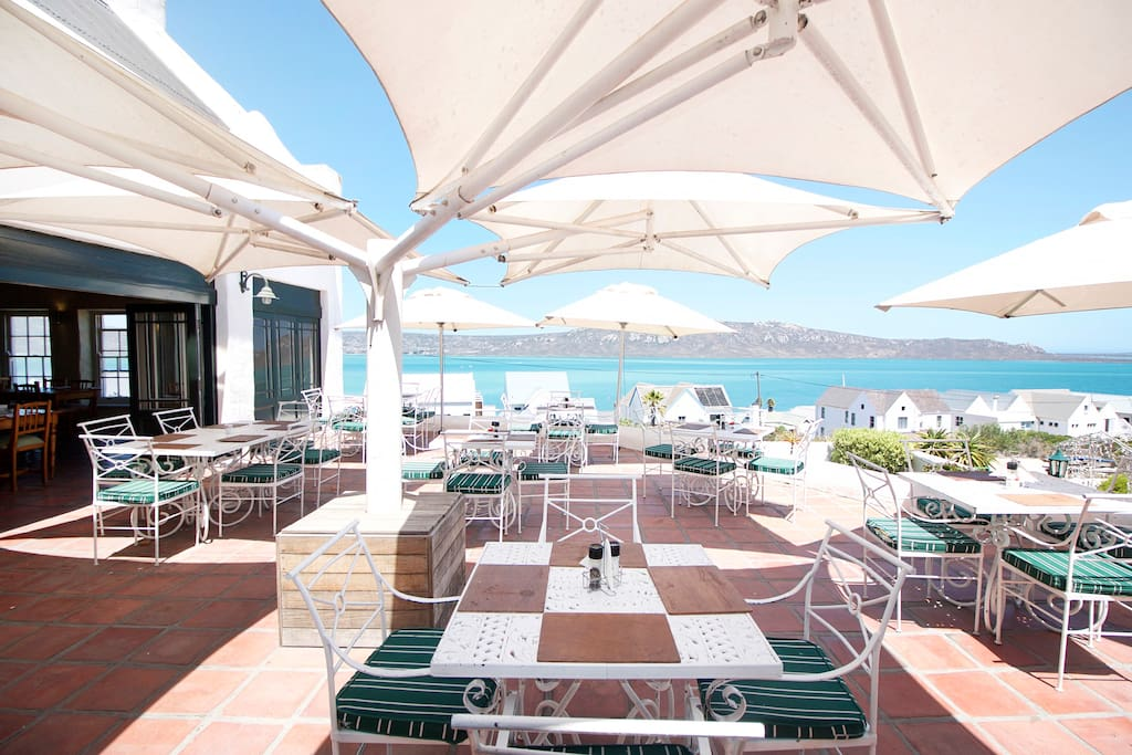 The hotels Restaurant with fantastic views