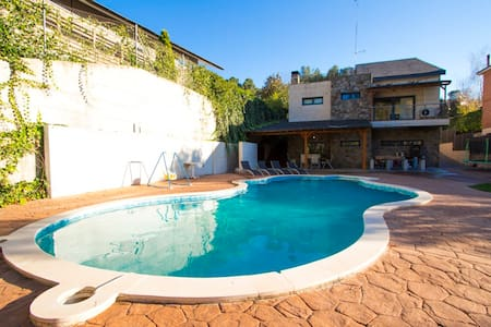 Pleasant villa, 30km from BCN! - Matadepera - Talo