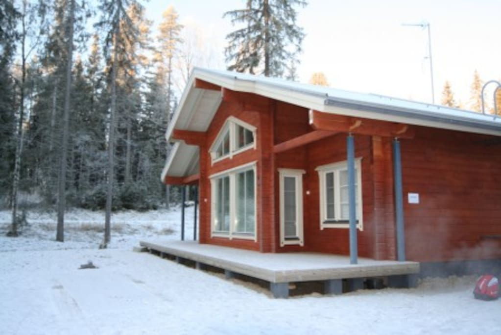 Amero purnu 1 case in affitto a koli finlandia for Piani casa cottage shotgun