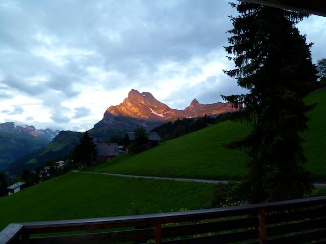 Bergwelt -  Wohnung für 2-4 Pers. - Glarus Süd