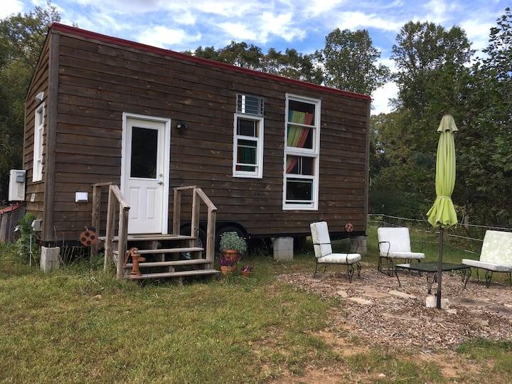 Farm Camp Tinyhouse Stay at Ladybug Farms