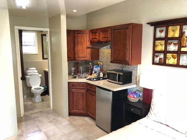 Perfect Location, Warm Family, Private Suite