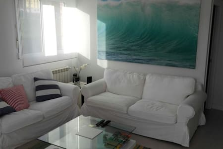 Beautiful and bright apartment with private garden - Luanco