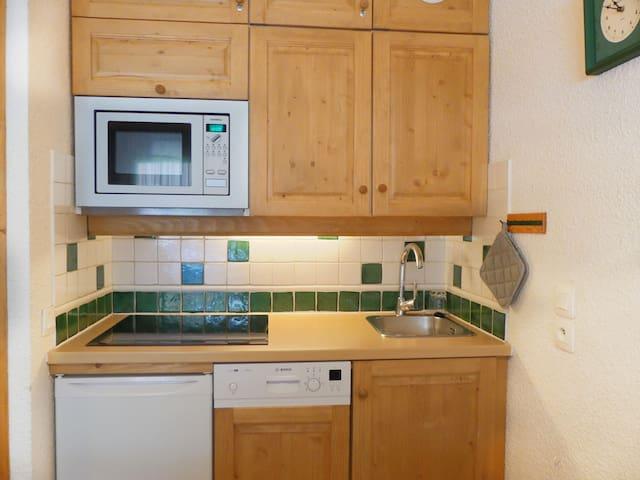 Kitchenette ouverte / Kitchen corner
