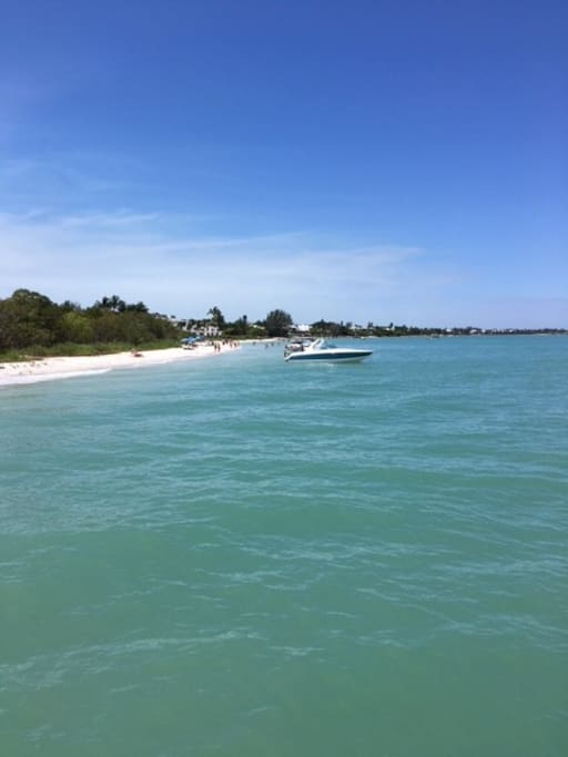 Spend the day in Sanibel Island, just a 20 minute drive