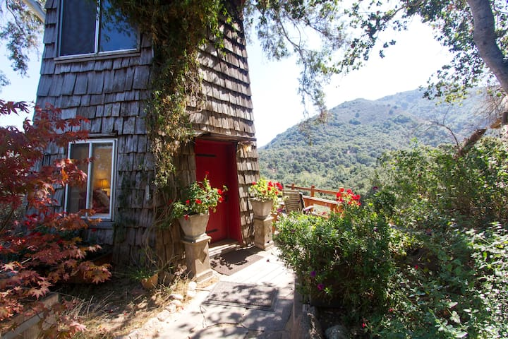 serene peaceful tower retreat - Carmel Valley - Blockhütte