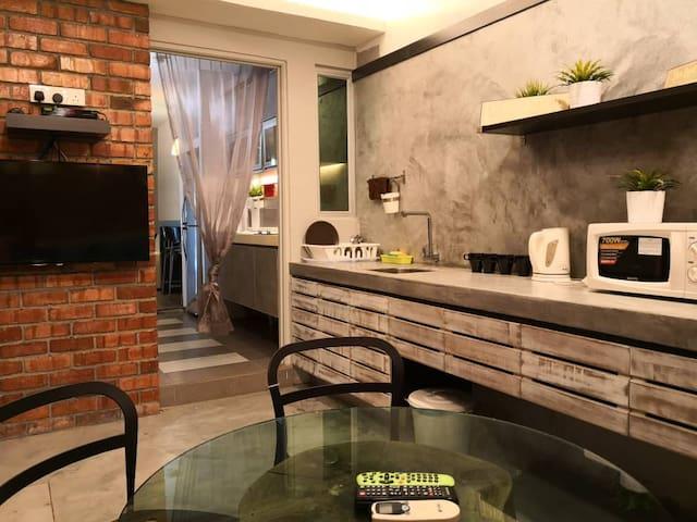 Comfy Double Terrace House