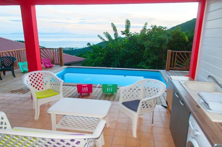 Nouveau Studio piscine , vue mer - Sainte-Luce - Appartement