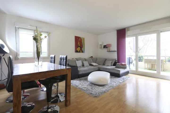 Appartement calme à 20 mn de Paris - Saint-Gratien - Lejlighed