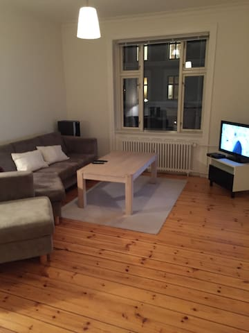 Bedroom in cosy apartment near to city centre - Copenhaguen - Pis