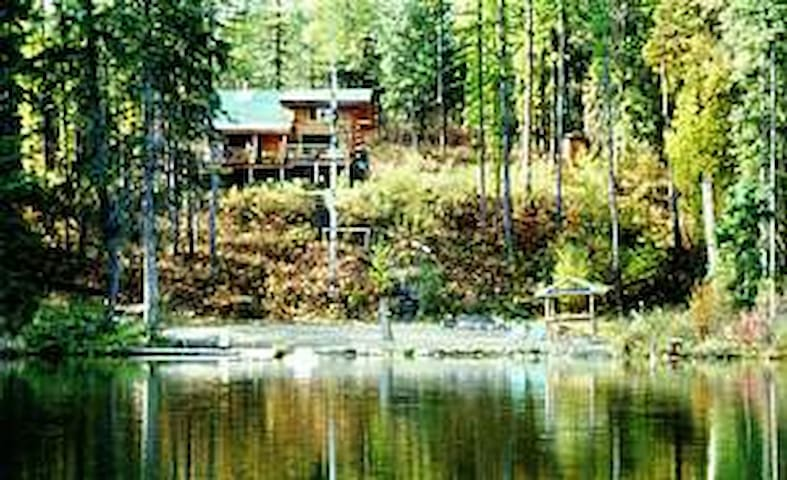 Wildwood Cabin with private Lake