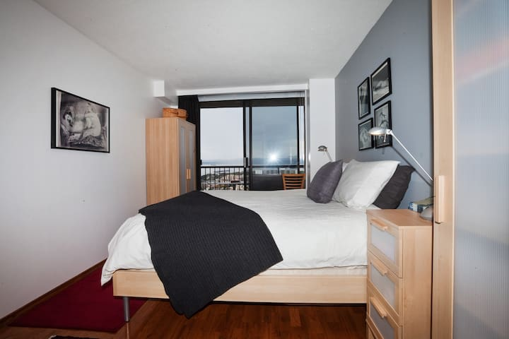 Pillow top Queen Bed