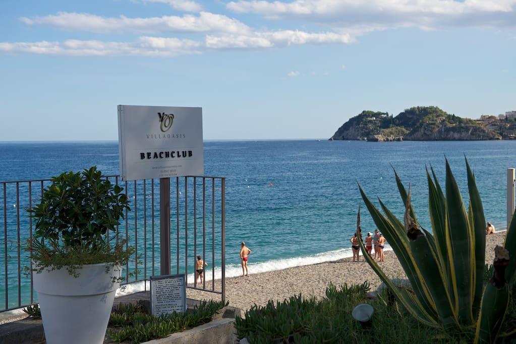 Spiaggia Villa Oasis