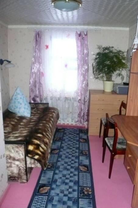 Гостевая одноместная комната