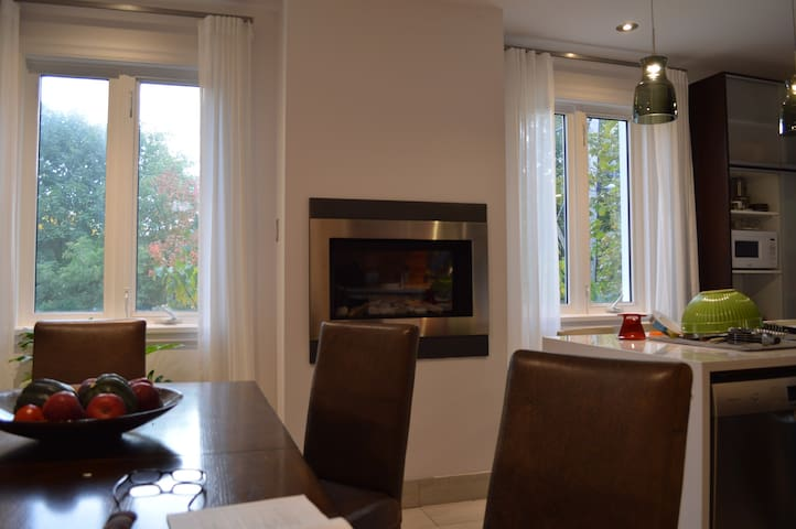 Room in renovated apt, access to kitchen and more - Montréal - Casa